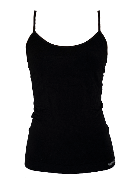 BAMBODY camisole, top, sort