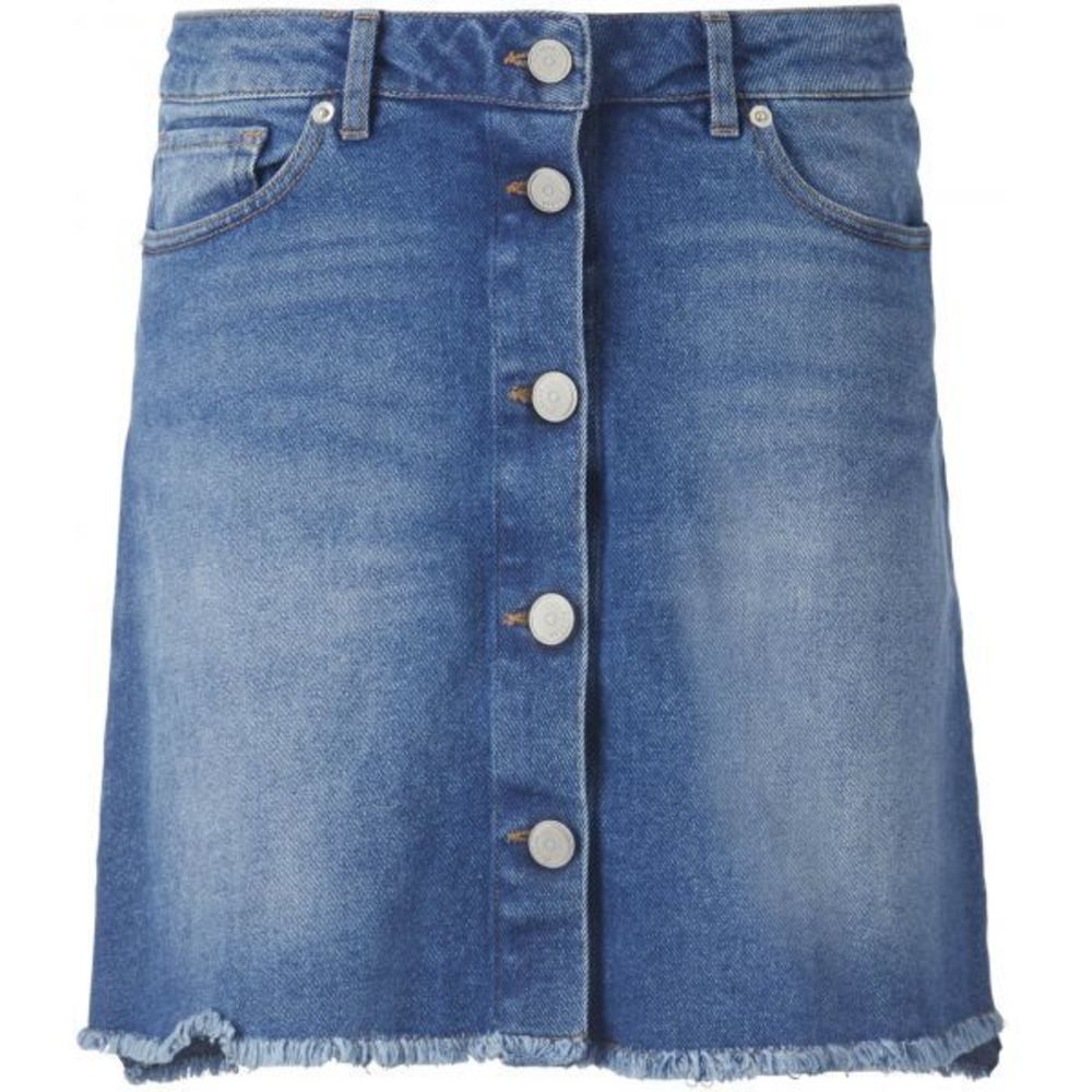 Pieszak Diva Swan Denim Blue Skirt