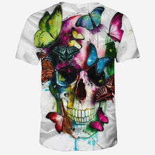 Load image into Gallery viewer, Beautiful Skull T-Shirt