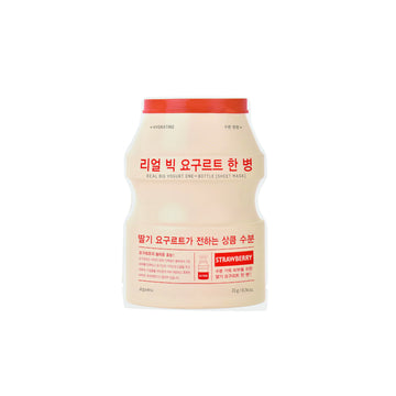 A'pieu Real Big Yogurt One Bottle Sheet Mask Strawberry
