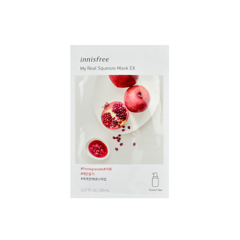 Innisfree My Real Squeeze Mask EX Pomegranate