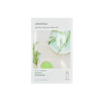 Innisfree My Real Squeeze Mask EX Tea Tree