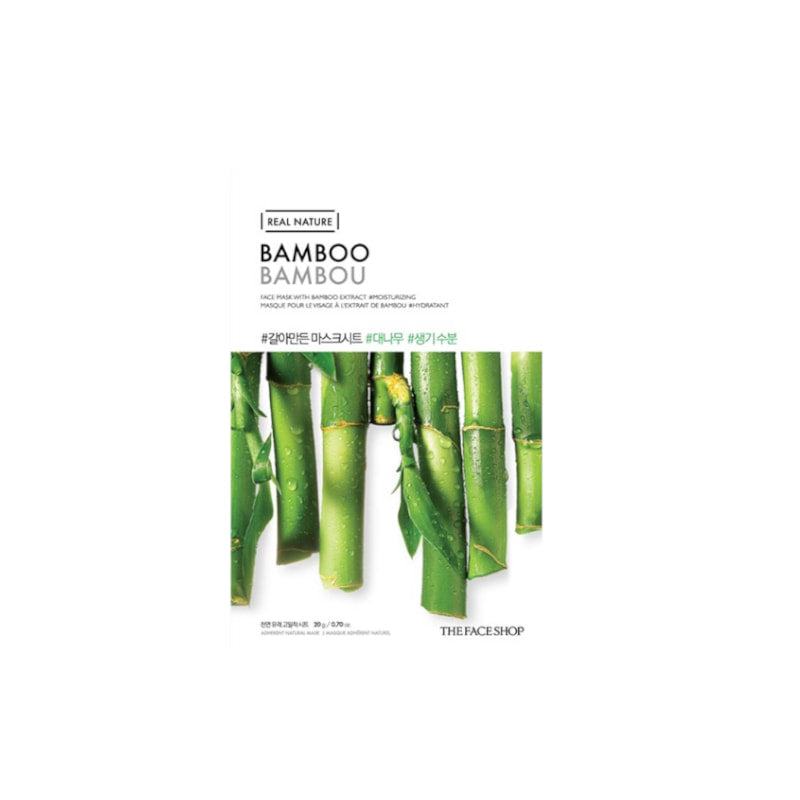 The Face Shop Real Nature Face Mask Bamboo