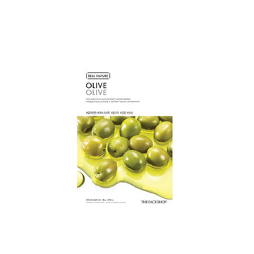 The Face Shop Real Nature Face Mask Olive