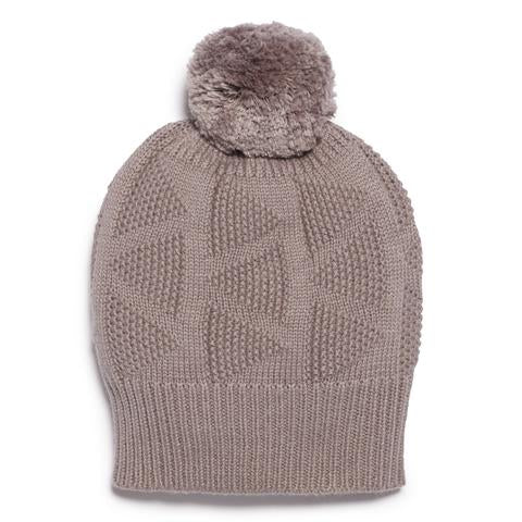 Wilson and Frenchy Knit Hat - Wood