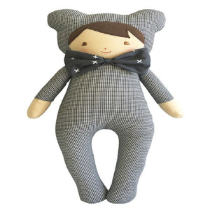 Alimrose - Baby in Bear Suit Houndstooth (43 cm)
