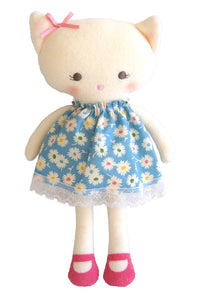 Alimrose Kitty Doll - Blue Floral (26 cm)