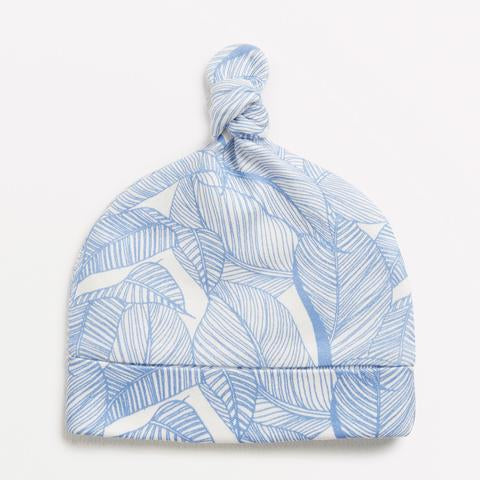 Wilson and Frenchy Knot Hat - Blue into the Jungle