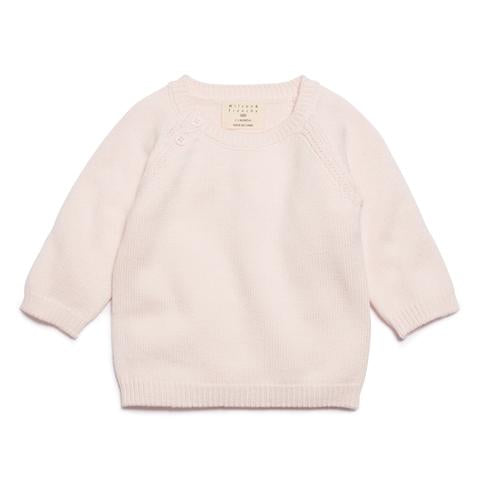 Wilson and Frenchy Knit Jumper - Marshmellow - 12-18 months