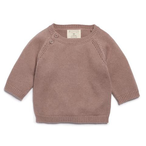 Wilson and Frenchy Knit Jumper - Wood
