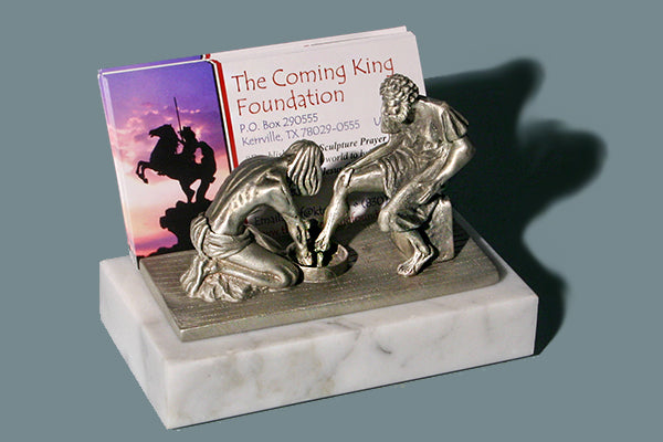 Divine Servant Business Card Holder