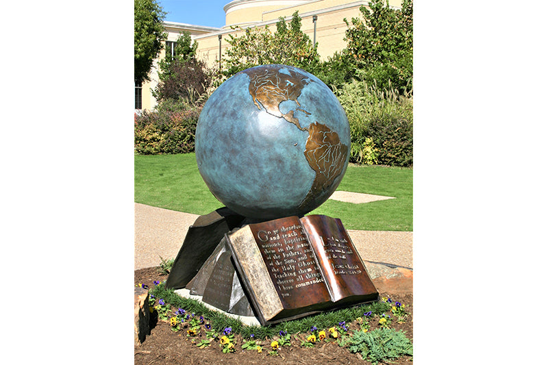 "Z The Great Commission 36"" Bronze Sculpture"