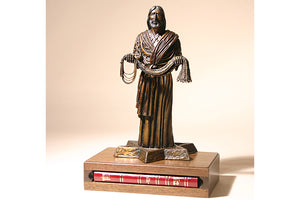 Fisher of Men Bronze 1/6 Life-size Sculpture (with Bible)
