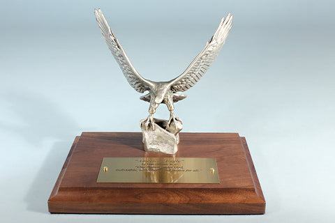 American Eagle 1/12 Life-size Pewter Sculpture Award