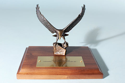 American Eagle 1/12 Life-size Bronze Sculpture Award