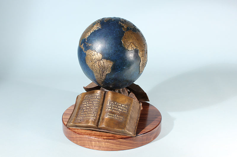 "The Great Commission 9"" Resin Sculpture"