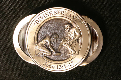 Divine Servant Belt Buckle