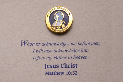 The Great Commission Lapel Pin