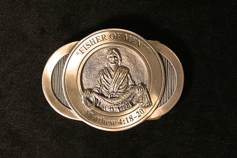 Fisher of Men Belt Buckle