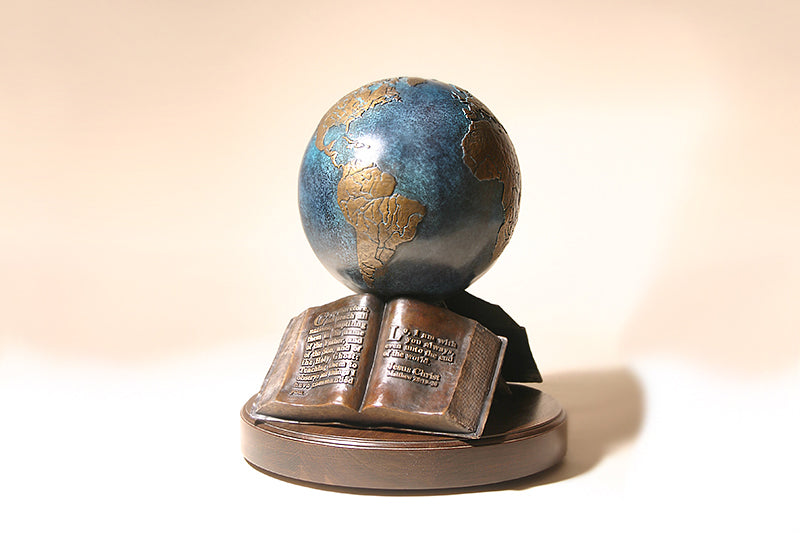 "The Great Commission 9"" Bronze Sculpture"