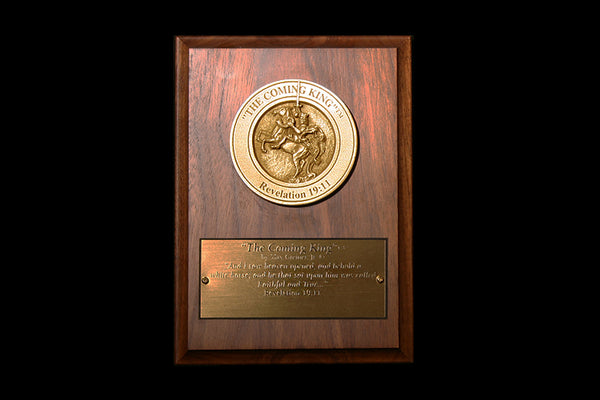 The Coming King Medallion Award