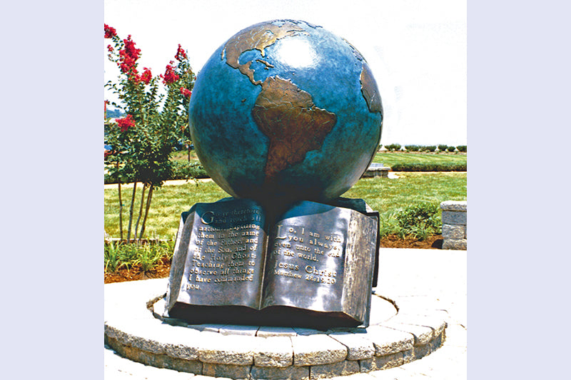 "The Great Commission 48"" Bronze Sculpture"