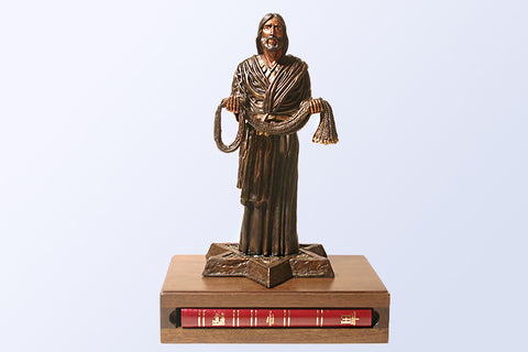 Fisher of Men Resin 1/6 Life-size Sculpture (with Bible)