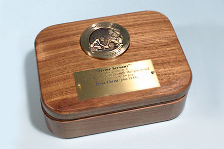 """Divine Servant"" Medallion Keepsake Box"