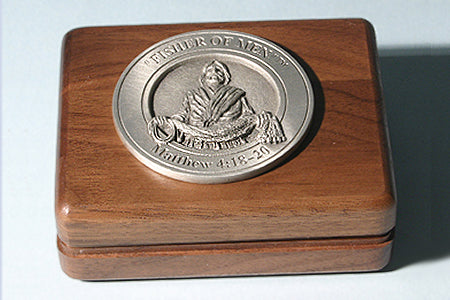 Fisher of Men Medallion Keepsake Box