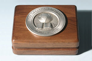 """The Great Commission"" Medallion Keepsake Box"