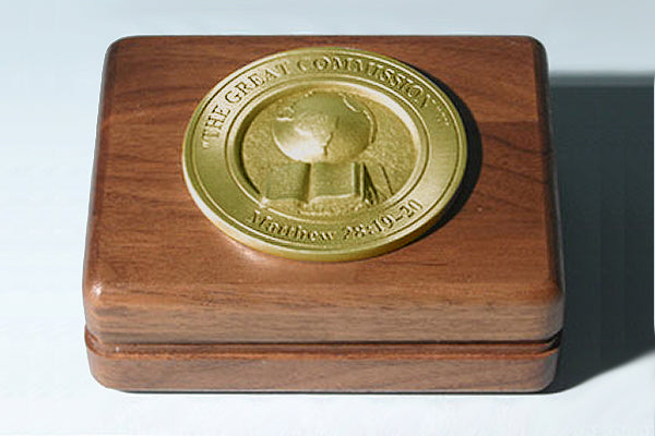The Great Commission Medallion Keepsake Box