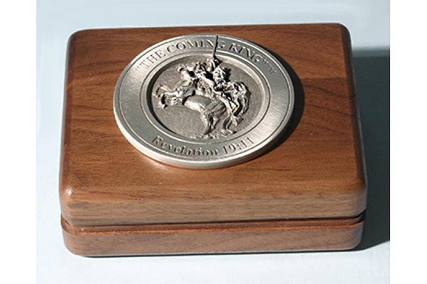 The Coming King Medallion Keepsake Box