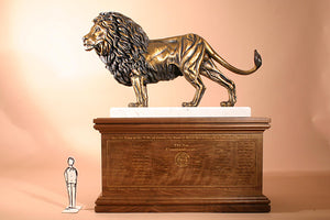 Z Lion of Judah 2X Life-size Bronze Sculpture (200%)
