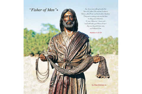 "Fisher of Men 24"" x 24"" Canvas Print"