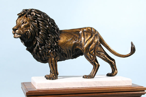 Z Lion of Judah 1/2 Life-size Bronze Sculpture