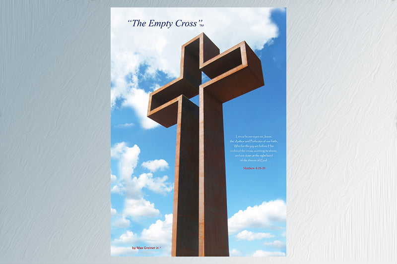 "The Empty Cross 24""x36"" Canvas Print"