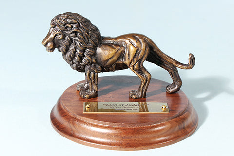Lion of Judah 1/24 Life-size Bronze Sculpture