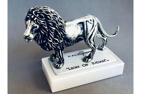 """Lion of Judah"" 1/24 Pewter Sculpture (Various Bases)"
