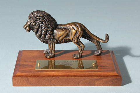 Lion of Judah 1/24 Life-size Bronze Sculpture Award