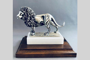 Lion of Judah 1/24 Pewter Sculpture (Various Bases)