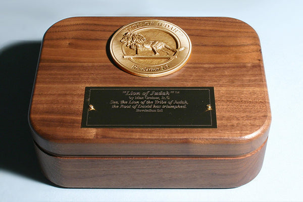 Lion of Judah Medallion Keepsake Box