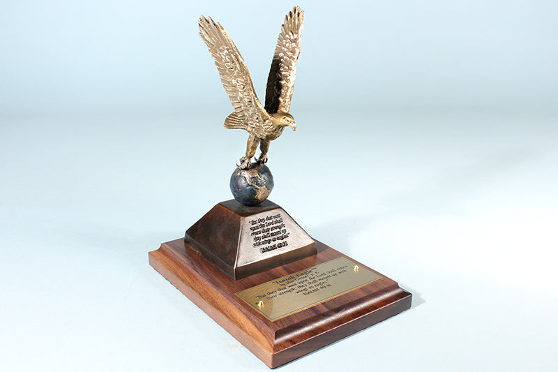 """Isaiah Eagle"" 1/12 Bronze Sculpture Award"