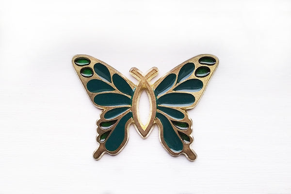 Christian Butterfly Kitchen Magnet (in 3 colors)