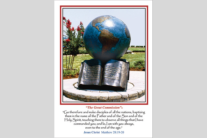 The Great Commission Note Cards (2 Styles)