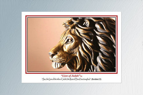 """Lion of Judah"" 24 Note Cards"