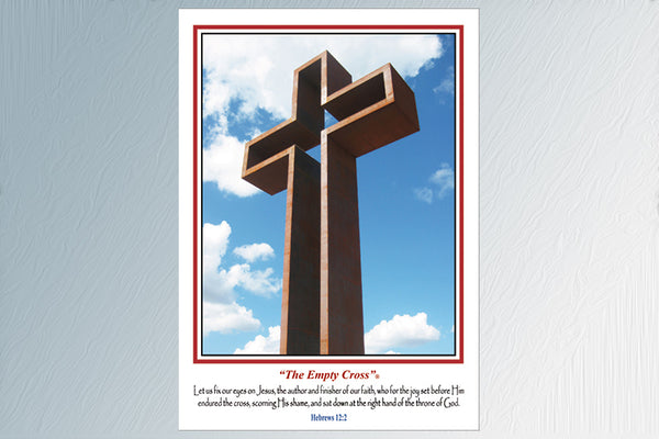"""The Empty Cross"" 24 Note Cards (3 Styles)"