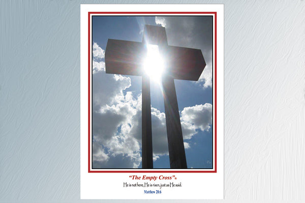The Empty Cross 24 Note Cards (3 Styles)