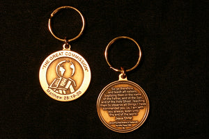 The Great Commission Bronze Key Ring