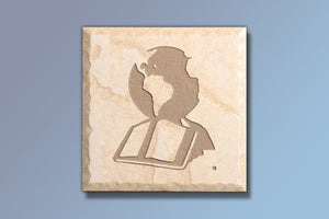 "The Great Commission 4"" Etched Tile"