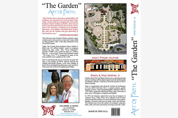 "Book ""The Garden"" ART OF FAITH  (Soft Cover, Large Format, Black & White Photographs)"